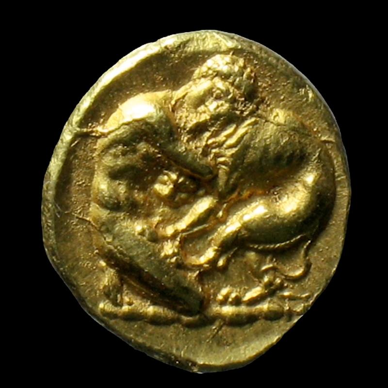 Ercole e il leone di Nemea: la moneta da 100 litre d'oro di Siracusa ci fa entrare nel mito