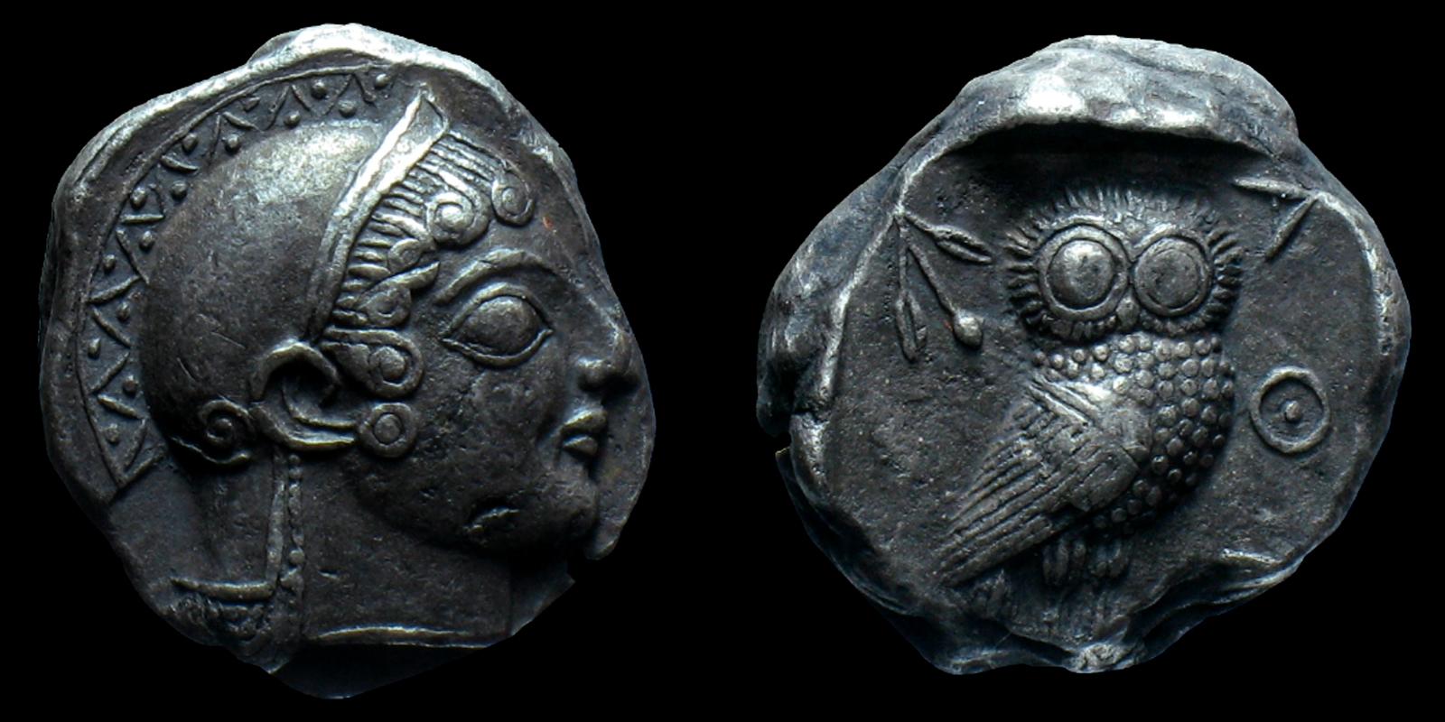 La moneta della democrazia: il tetradramma di Atene