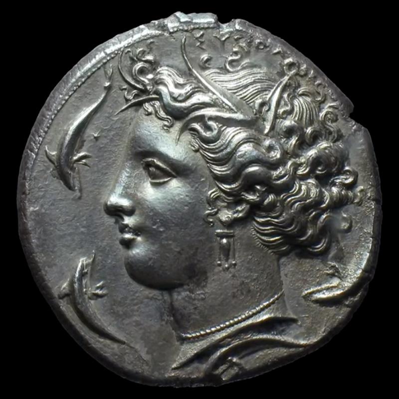 La moneta più bella al mondo: il decadramma di Siracusa