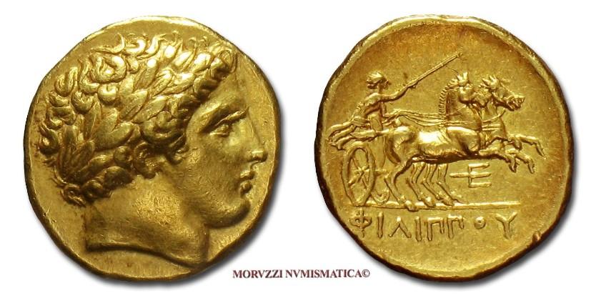 5703393cc2 Le monete di Filippo II di Macedonia: lo statere d'oro di Filippo II