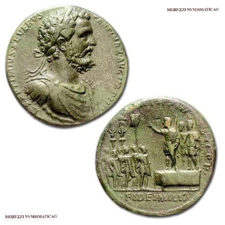 7bece4ac08 Il medaglione di Settimio Severo proposto dalla Moruzzi Numismatica