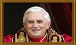 papal medals of pope Benedict XVI