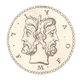 79f42f2b9e Alcune monete di Nerone commemorano la chiusura del tempio di Giano dopo la  vittoria di Corbulone. Gli aurei rappresentano in maniera semplice, ...