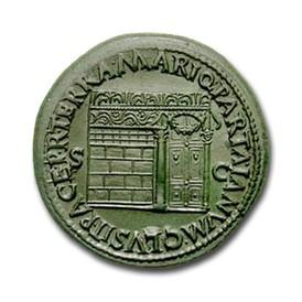 3dbb80f10e Significato della rappresentazione del tempio sulle monete. Nel discorso  programmatico dopo l'avvento al trono, redatto da Seneca, Nerone, pur  asserendo di ...
